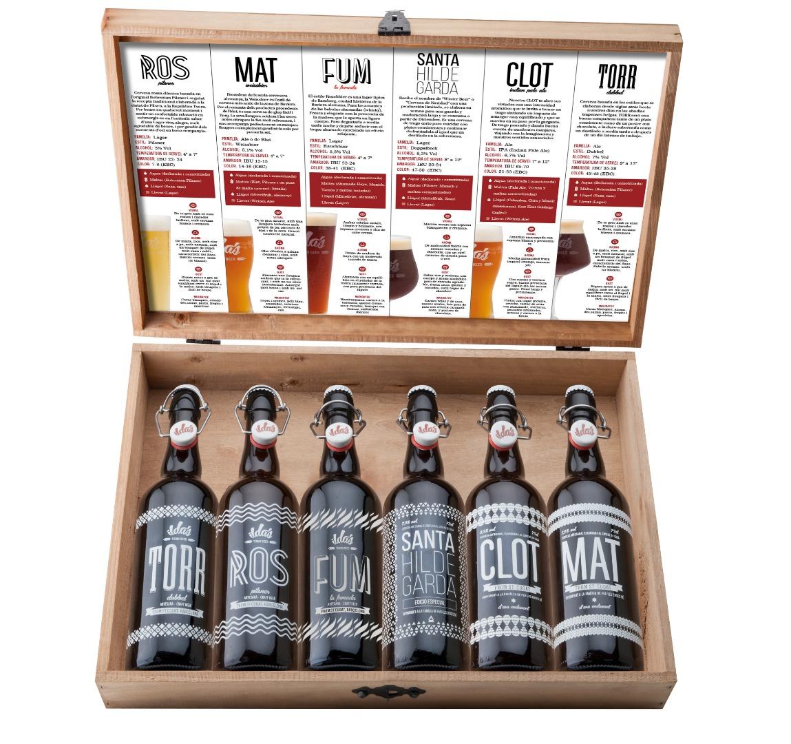 Selección PREMIUM 6 botellas en maletin de madera