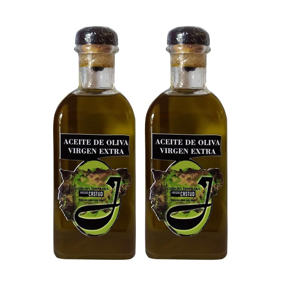 Aceite Oliva Virgen Extra de Cosecha Temprana -Pack de 2x500 ml