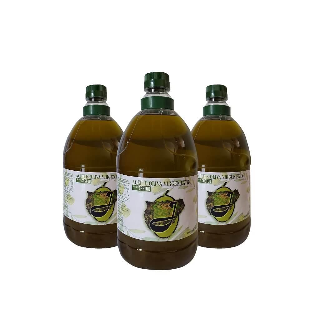 Aceite Oliva Virgen Extra de Cosecha Temprana -Pack de 3x2 L