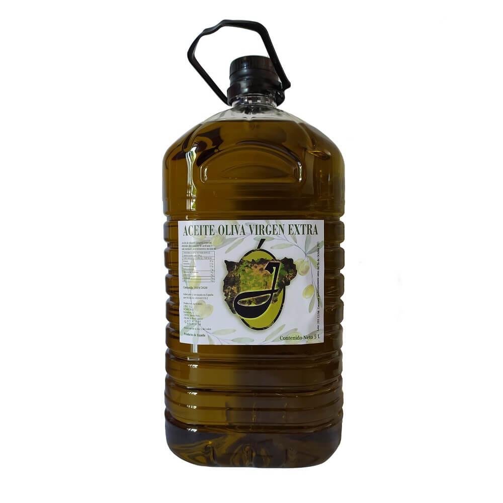 Aceite de Oliva Virgen Extra - Garrafa de 5 L