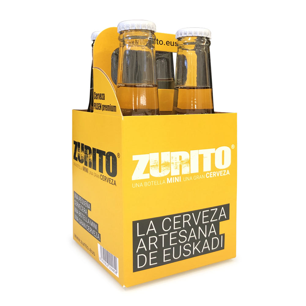 Cerveza Artesana - Pack de 4 botellas 20 cl