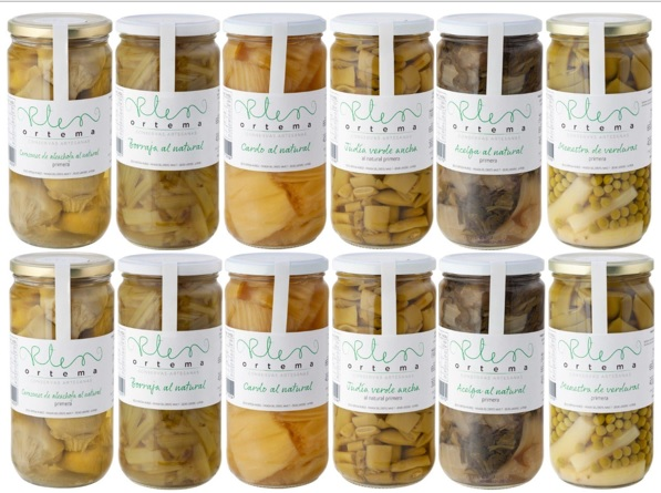 Conservas Ortema Lot Vegetables of the Ribera del Ebro (2 pcs. of each)