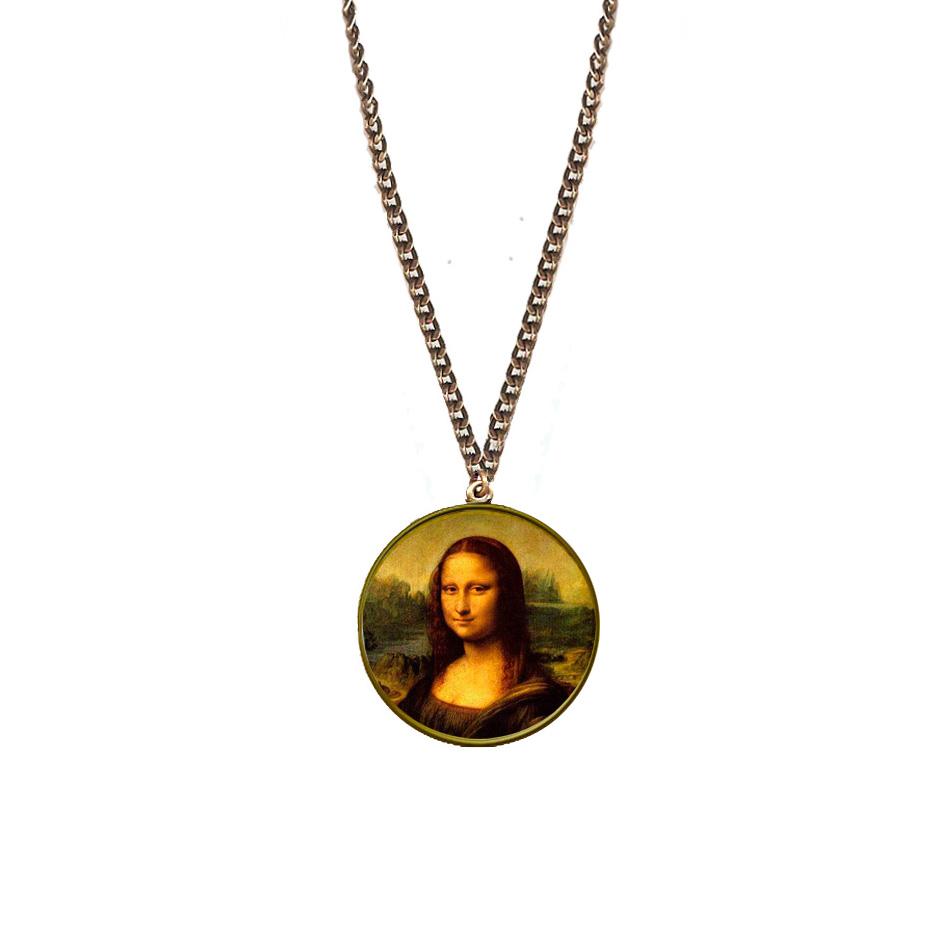 Colgante La Mona Lisa