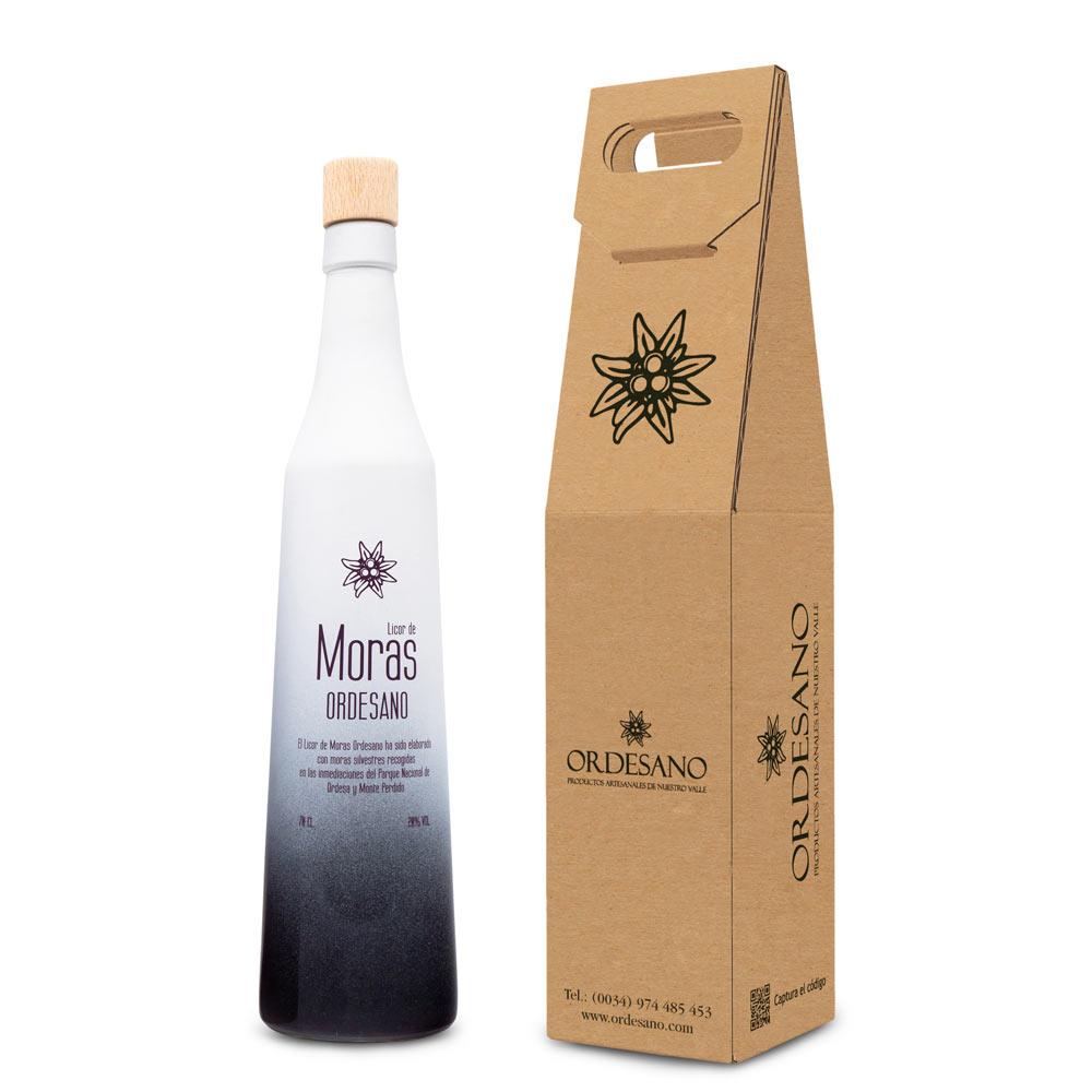 Licor De Moras Silvestres 70 Cl