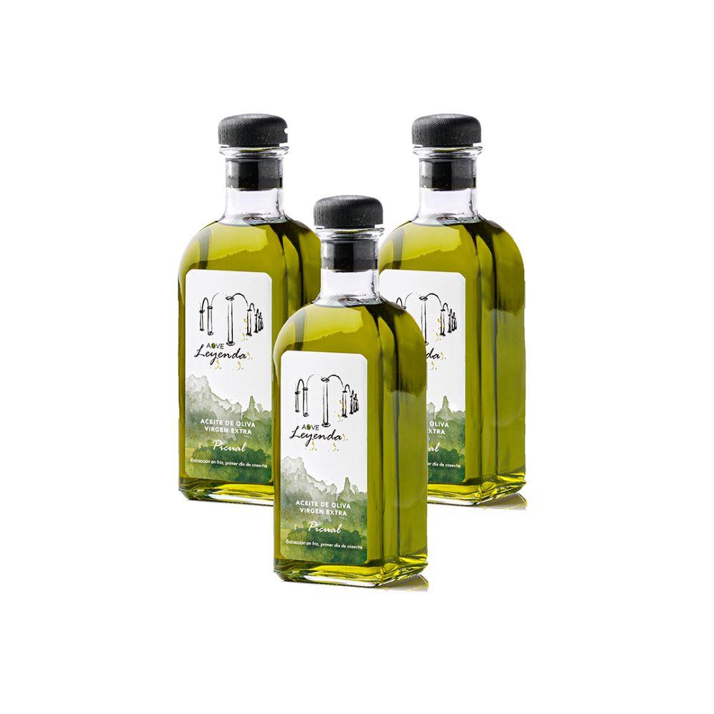 Aove Leyenda Aove Premium Picual Botella Trans. 3x500 ml