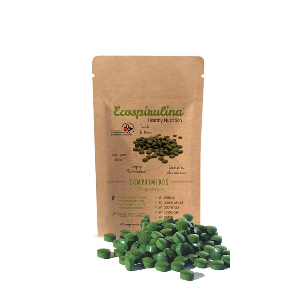 Espirulina Pura en Comprimidos de Alta Calidad - Peso neto 80 g