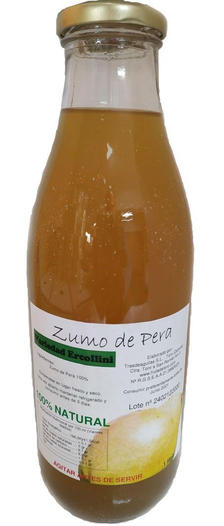 Zumo Natural de Pera Ercolini - 3 botellas
