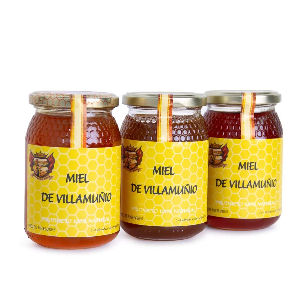 Pack de Miel - 3 botes de Miel de Milflores 1 Kg