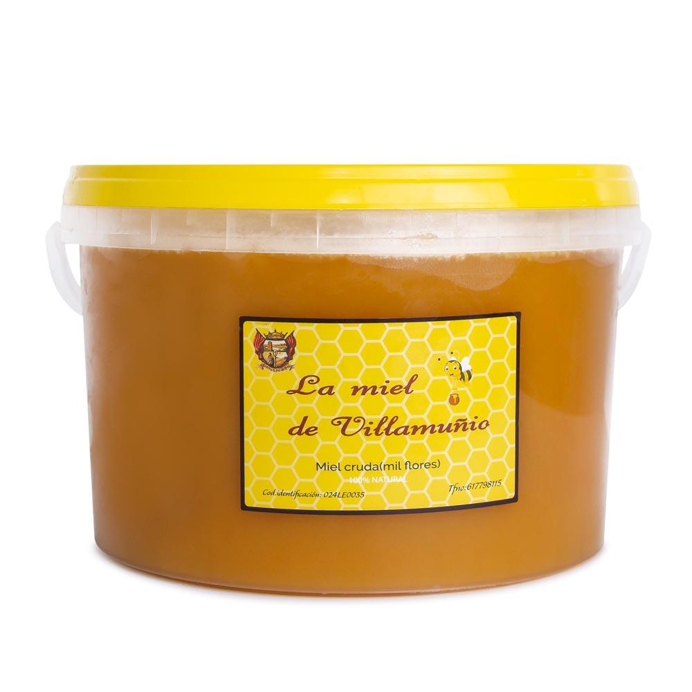 Cubo de Miel Multifloral de 10 Kg