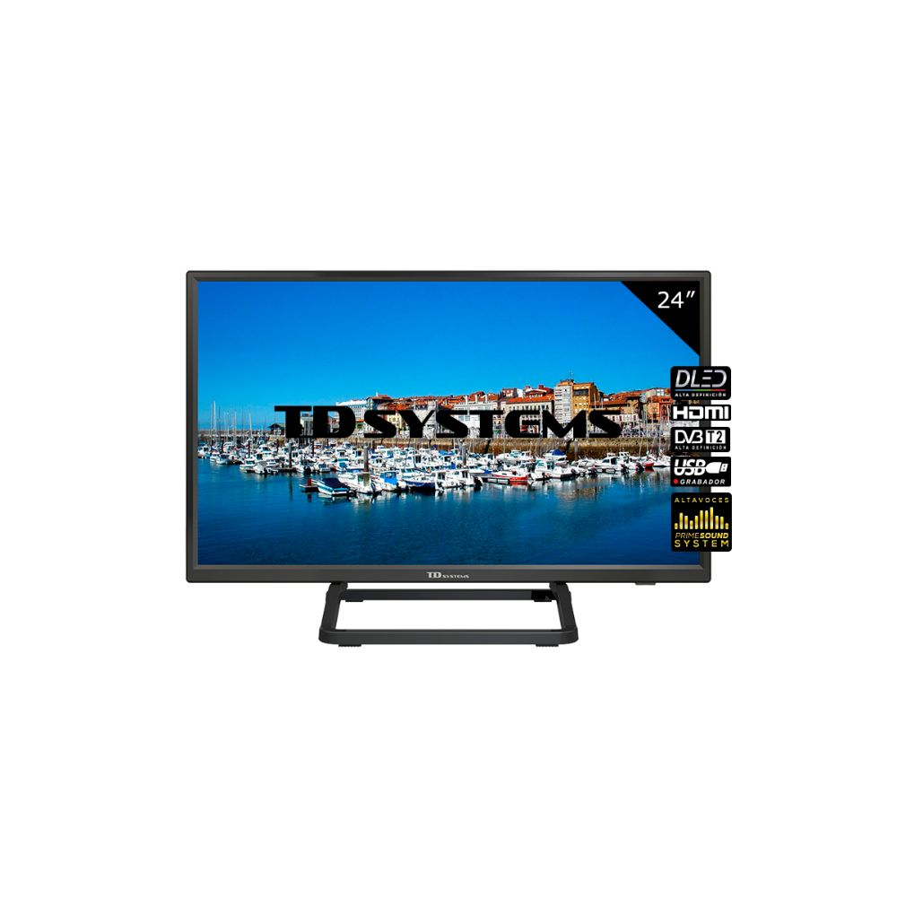"Televisor 24"" Led HD TD Systems K24DLX10H"