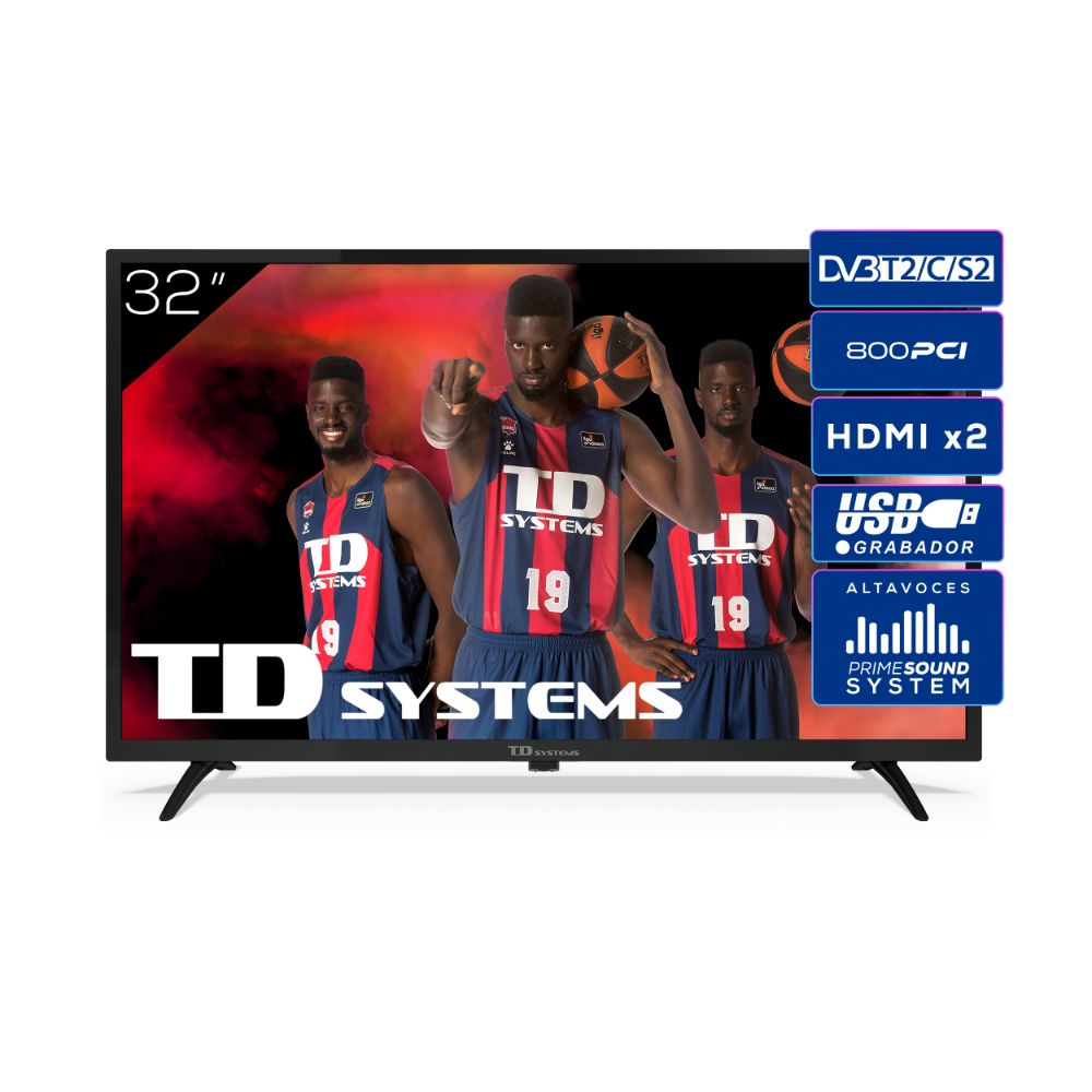"Televisor 32"" Led HD TD Systems K32DLK12H"
