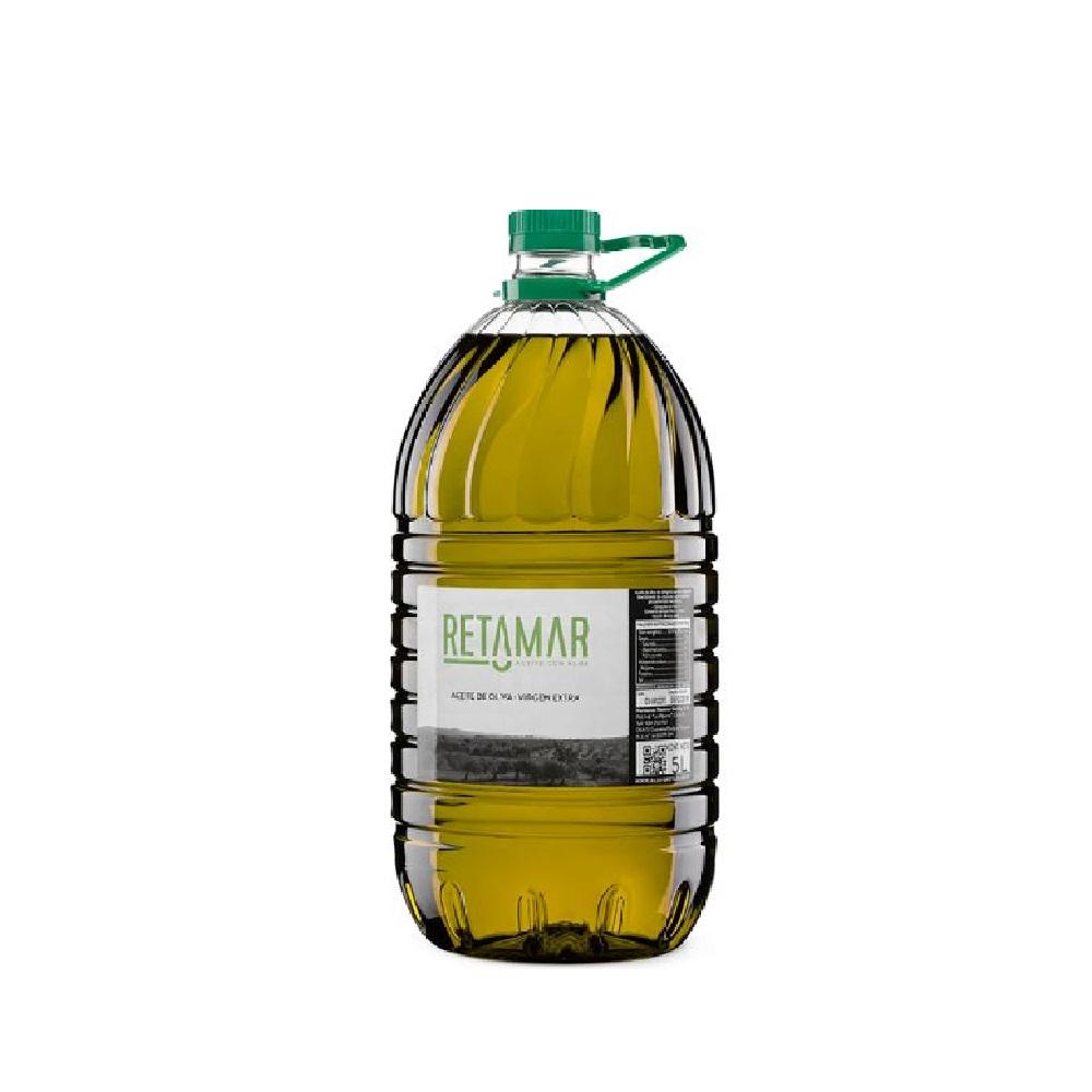 Aceite de Oliva VIrgen Extra - Botella 5L PET