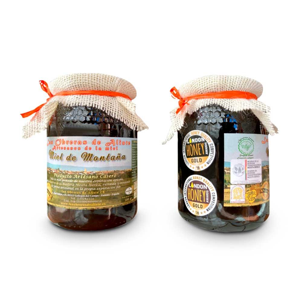 Miel de Montaña Las Obreras de Aliste Bote 1/2 kg