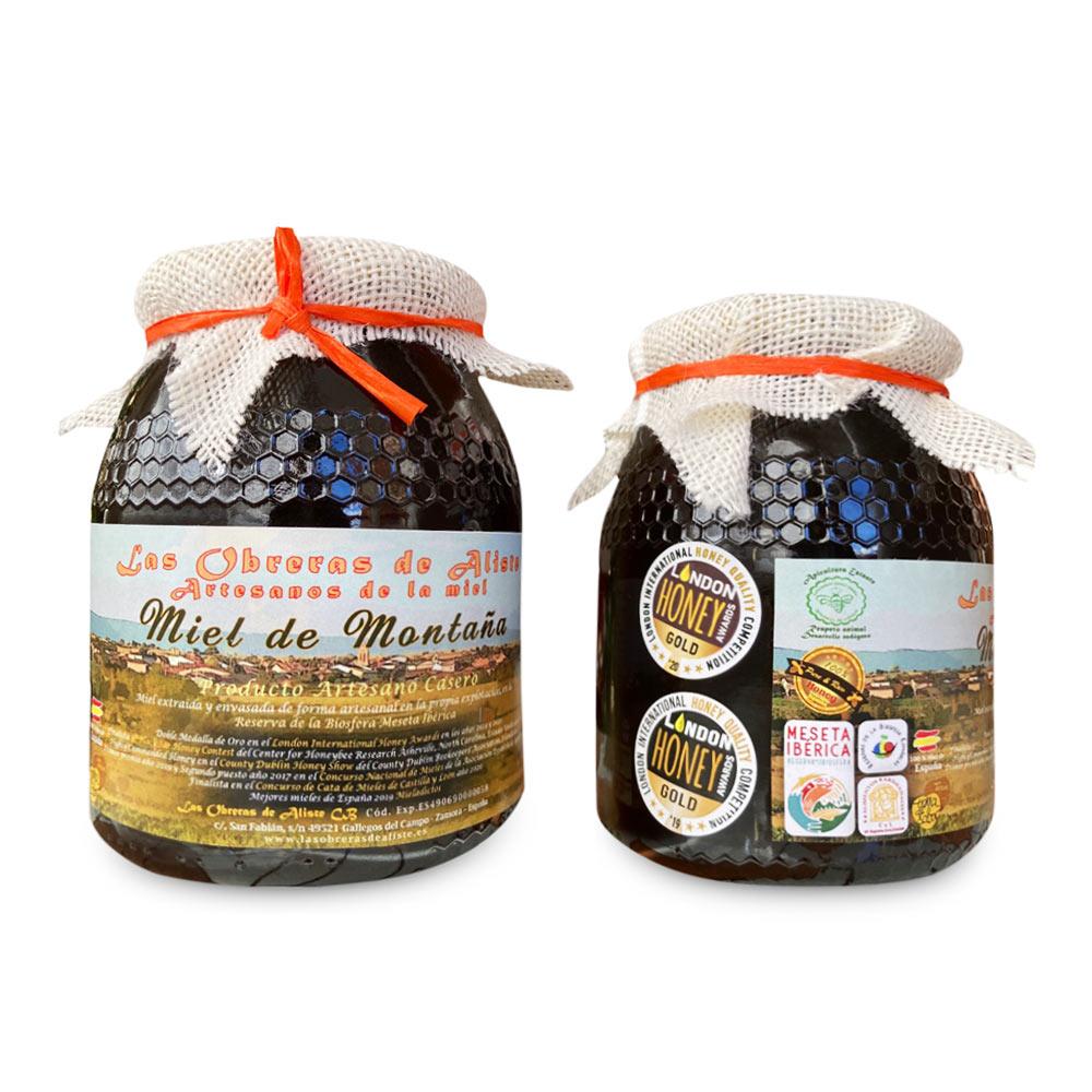Miel de Montaña Las Obreras de Aliste Bote 1 kg