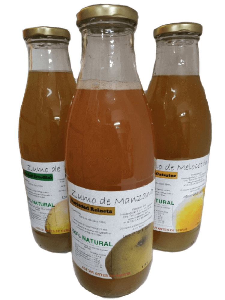 Zumo Natural Lote 3 botellas
