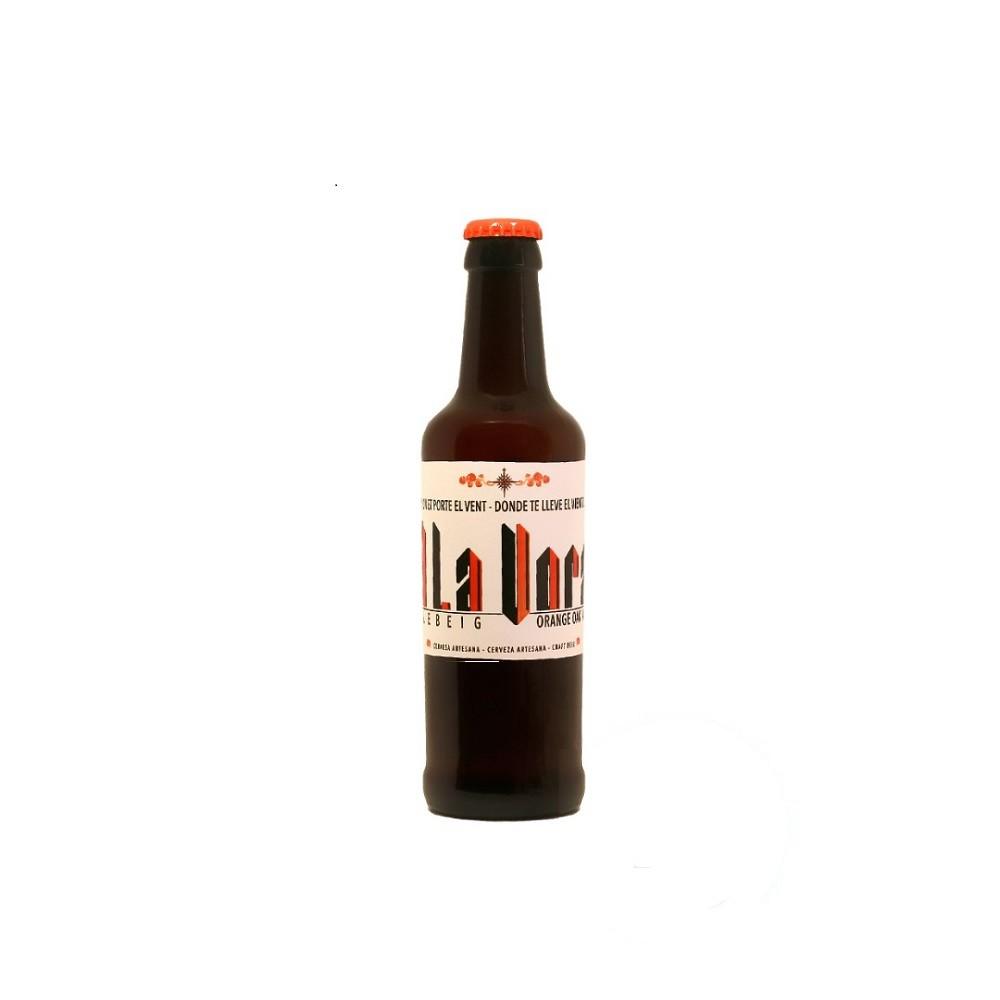 Llebeig Orange Oak Ale L 12 botellas de 33cl A La Vora
