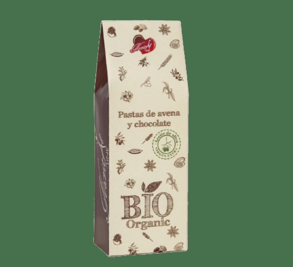 Galletas BIO de Avena y Chocolate