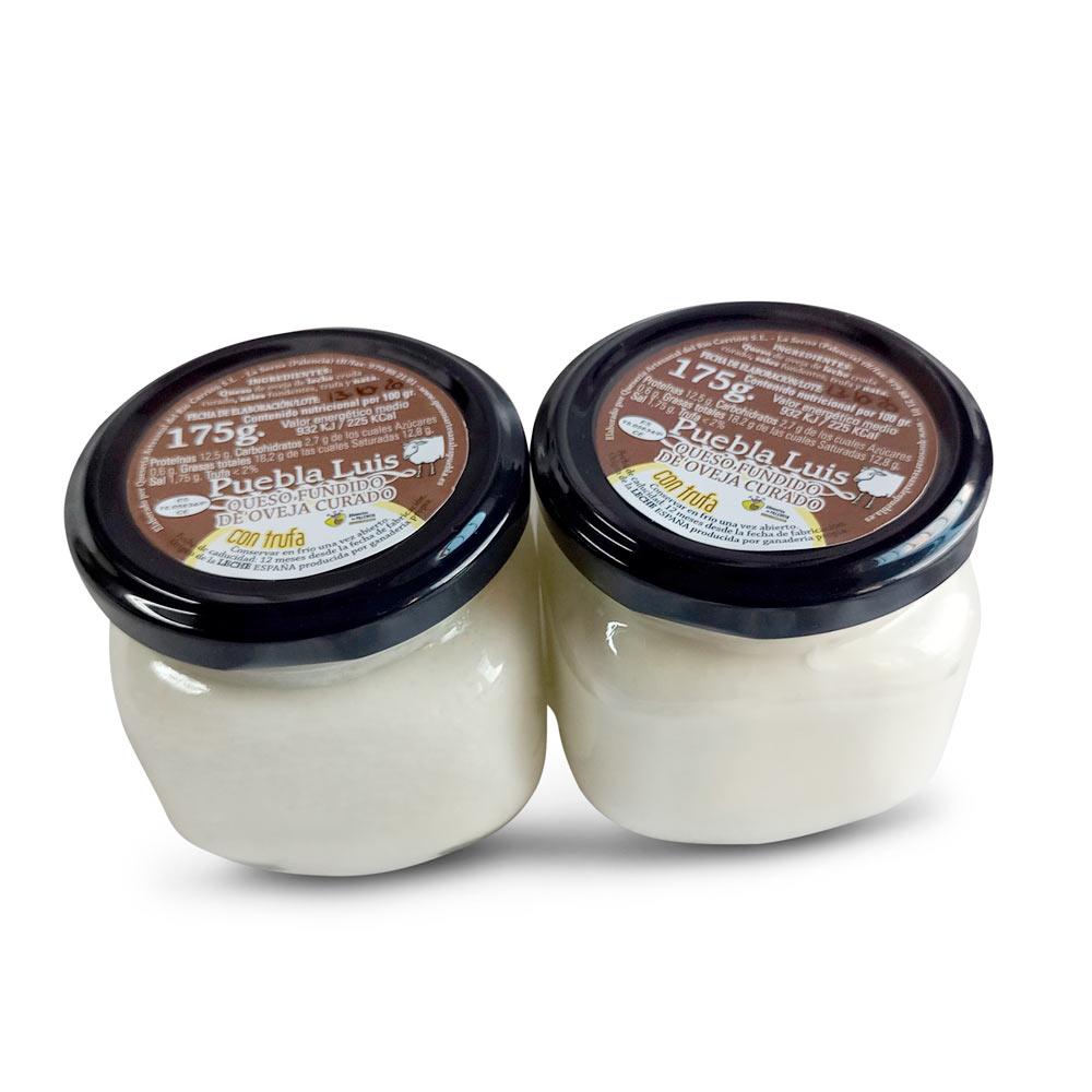Lote Crema de Queso de Oveja Curado con Trufa - 2 x 175 g