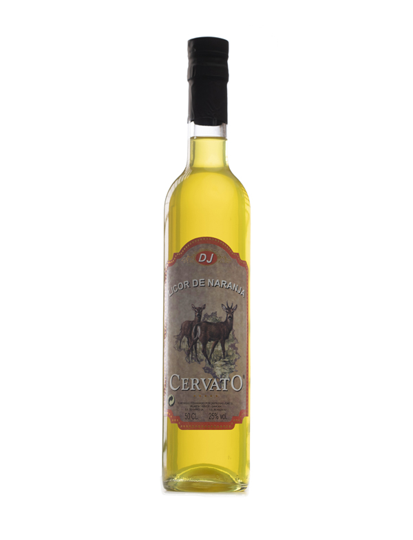 Aguardientes CervatO Orange Liqueur 50CL