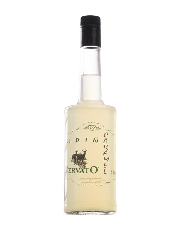 Aguardientes CervatO Pineapple Caramel Cocktail 70CL