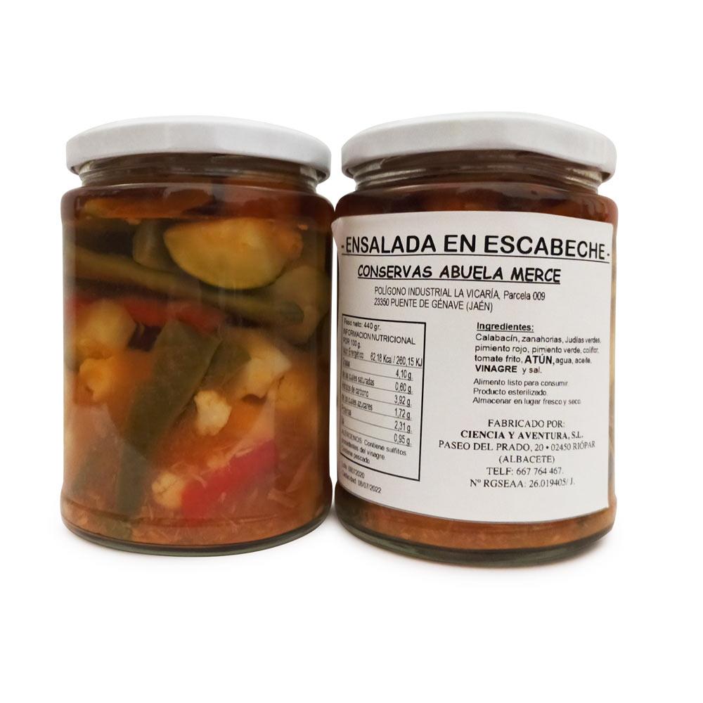 Ensalada de Verduras en Escabeche - 2x440 g