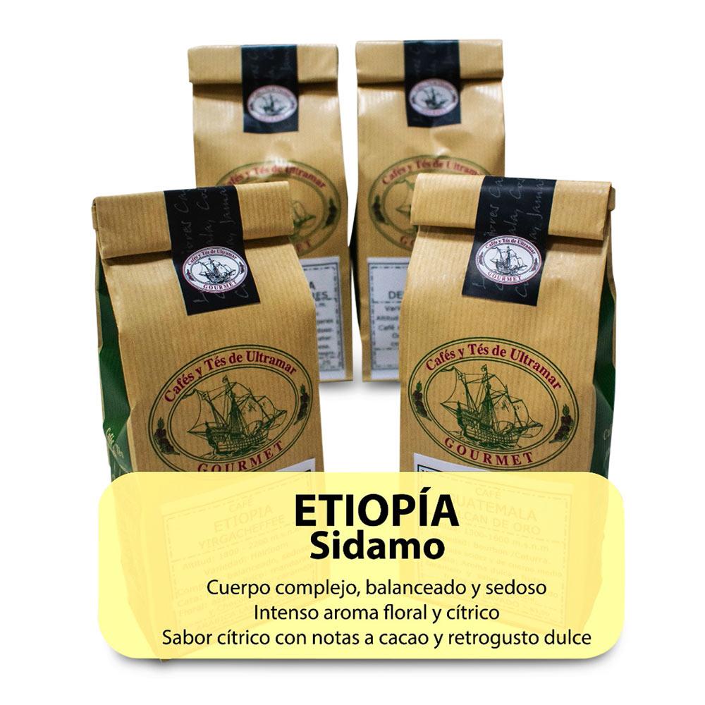 Etiopía Sidamo 4x250gr