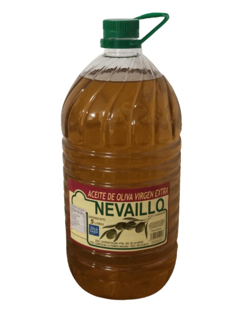 AOVE Garrafa de 5 litros