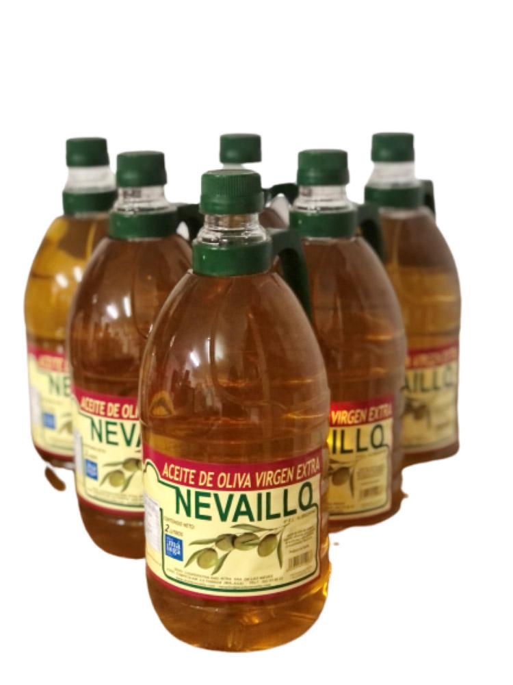 AOVE Lote 6 botellas de 2 litros