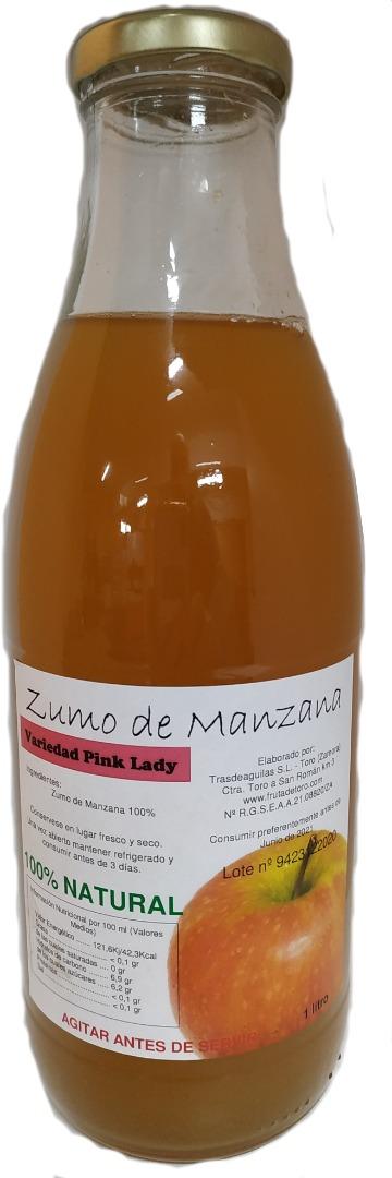 Zumo Natural de Manzana Pink Lady - 3 botellasx1 l