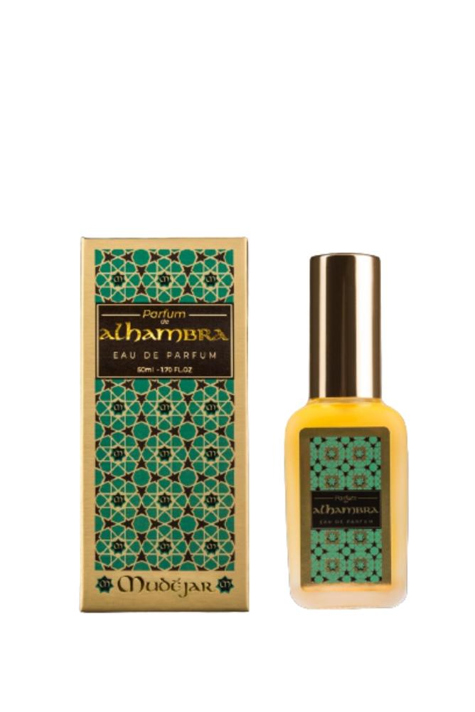 Parfum de Alhambra natural vegano 50 ml perfume de mujer suave vaporoso
