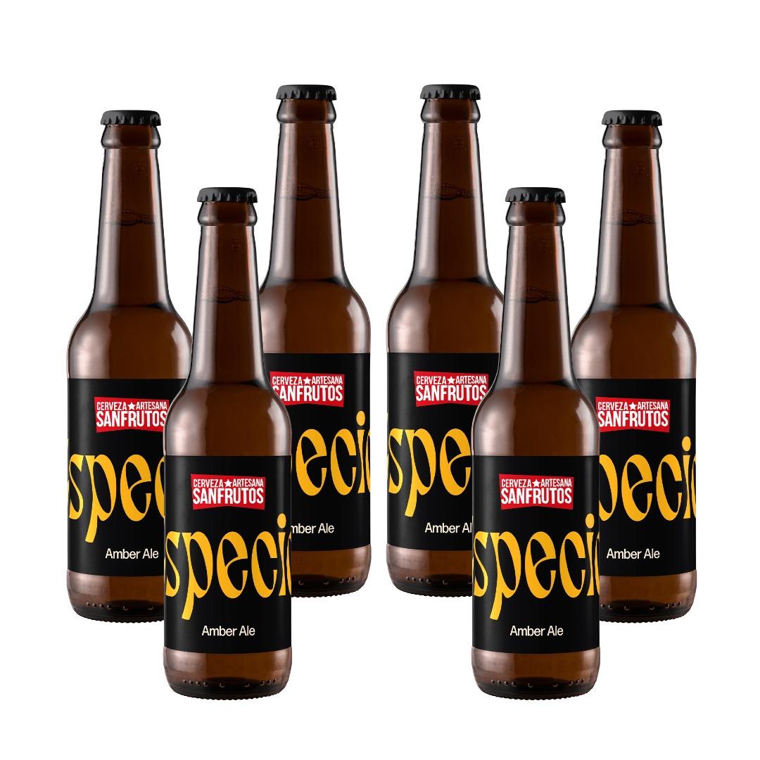 Cerveza Sanfrutos Mix Suaves - 6 botellas 33 cl