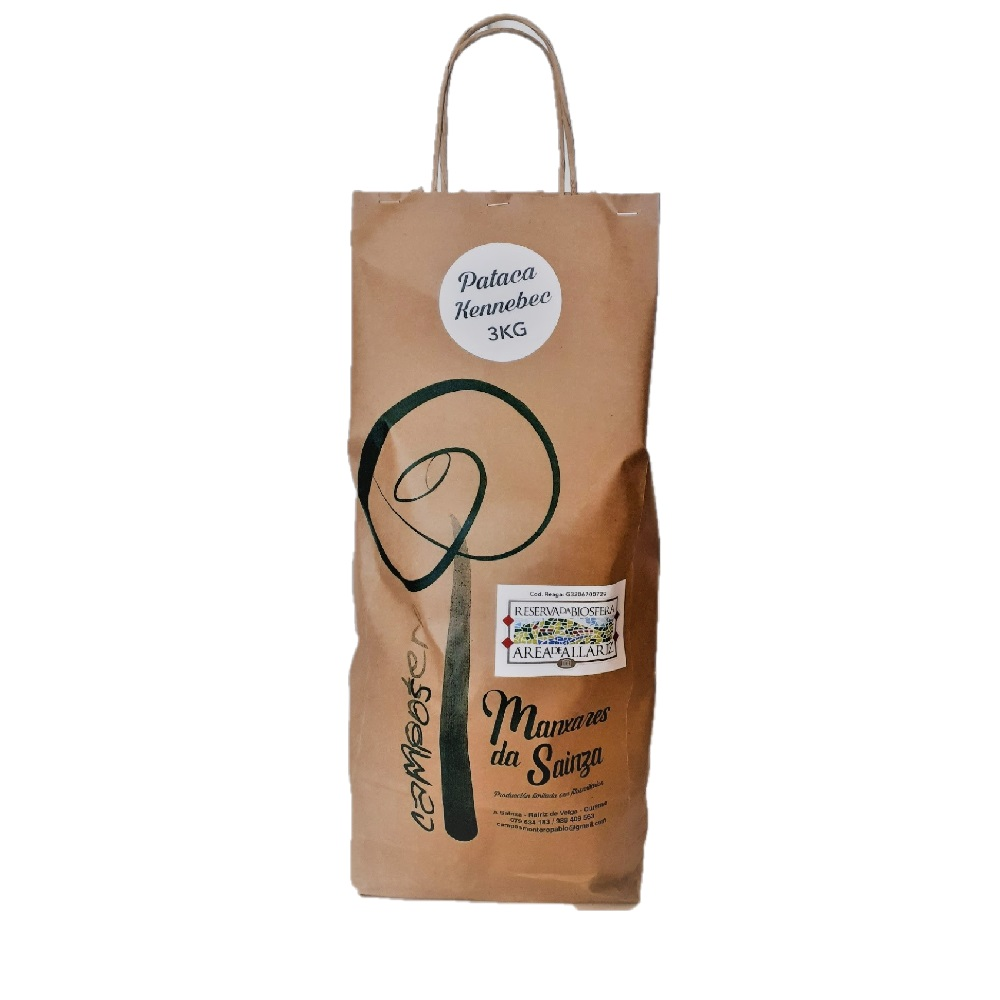 Bolsa de Patatas kennebec 3 kg Calibre Mediano