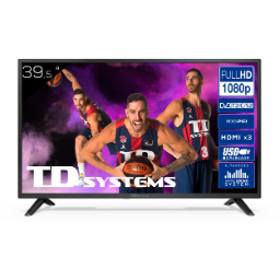 "Televisor 39,5"" Led Full HD TD Systems K40DLJ12F"