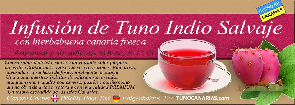 Pack 2 Tisanas de Higo Tuno Indio de Producción Ecológica y Hierbabuena