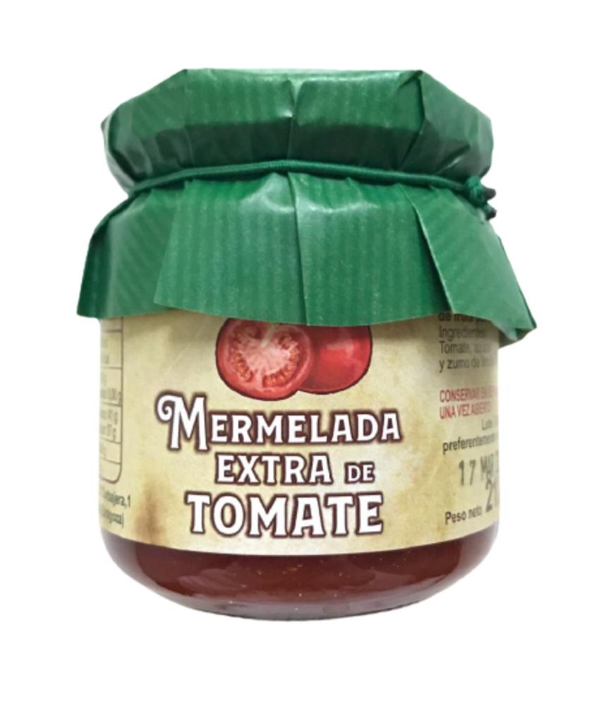 PACK 6 BOTES MERMELADA EXTRA DE TOMATE. Bote de 212 g.
