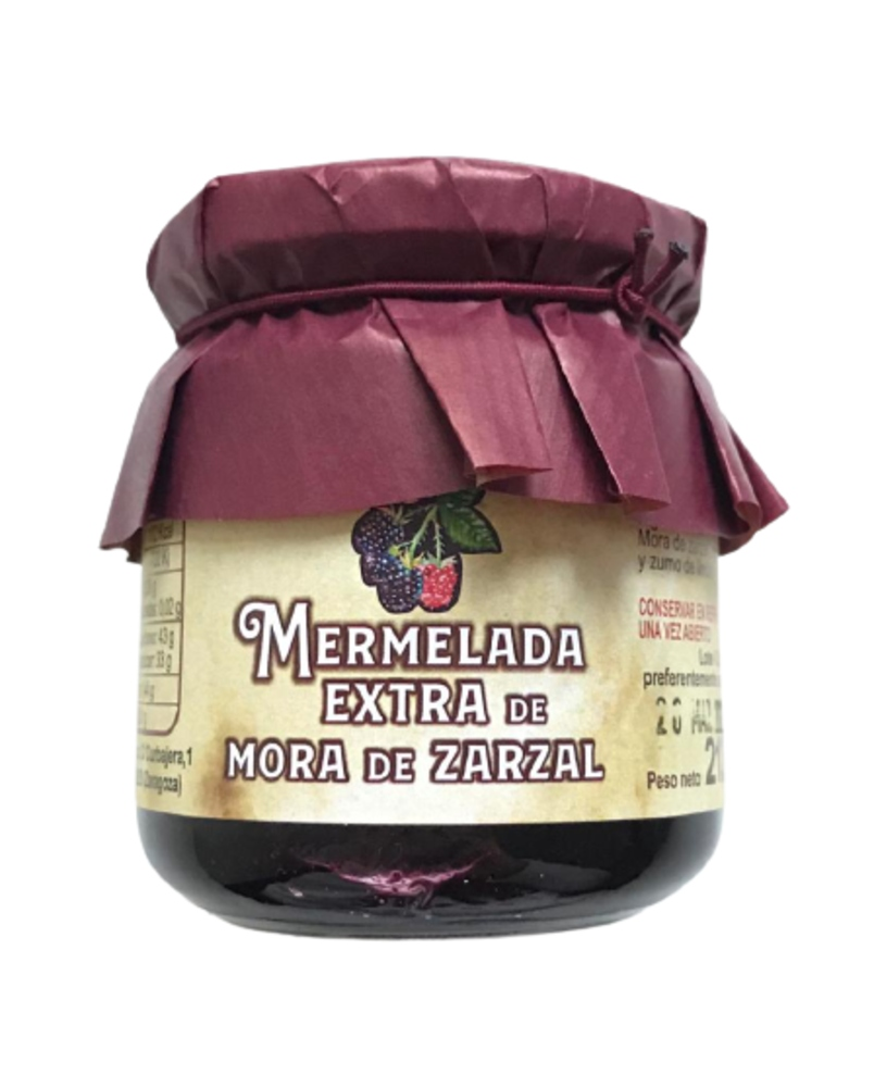 PACK 6 BOTES MERMELADA EXTRA DE MORA DE ZARZAL