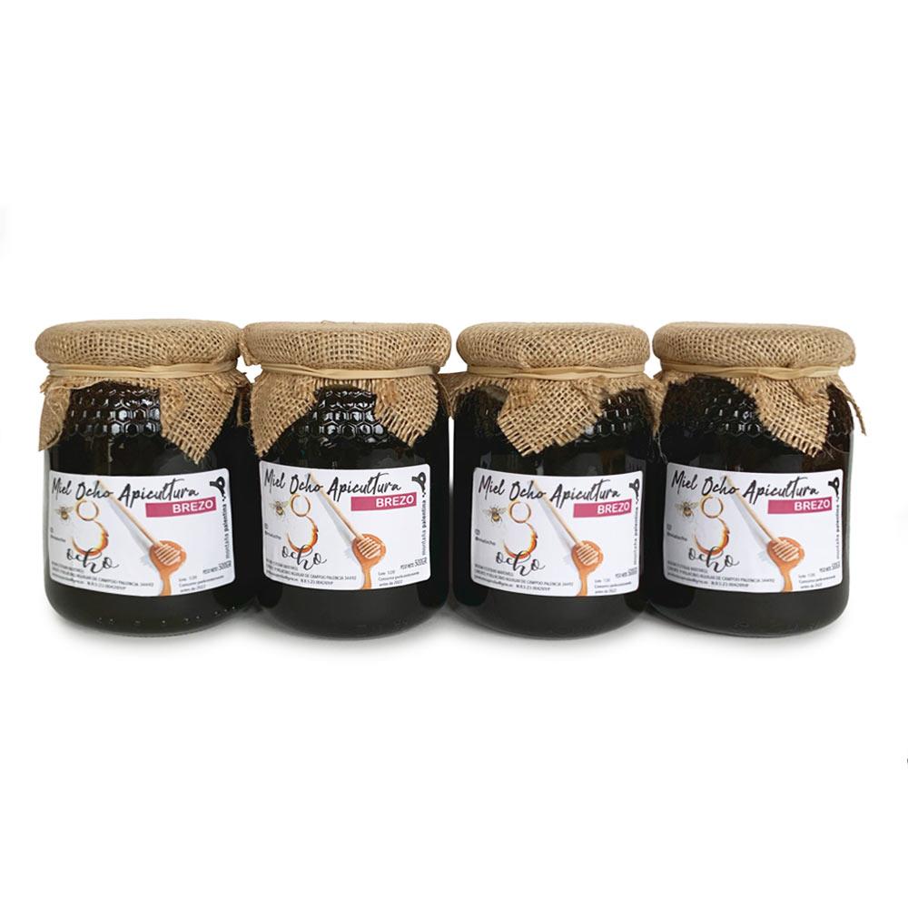Miel de Brezo - 4 Tarros de 500 g