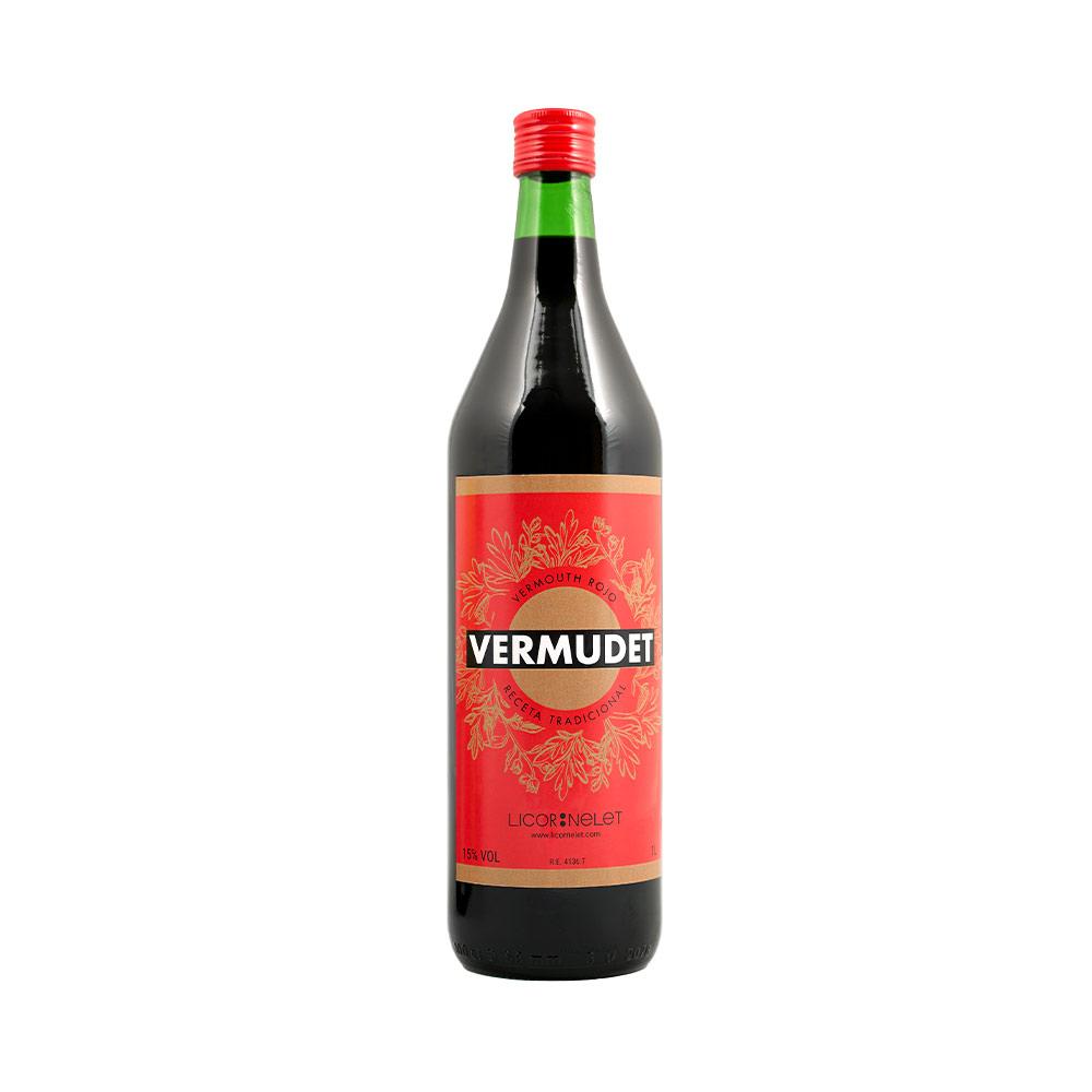 "Vermut Rojo ""Vermudet""  1 Botellax1000cl"