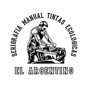 Manual screen printing Ecological inks El Argentino