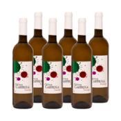 Vino blanco airén - Caja 6x75 cl