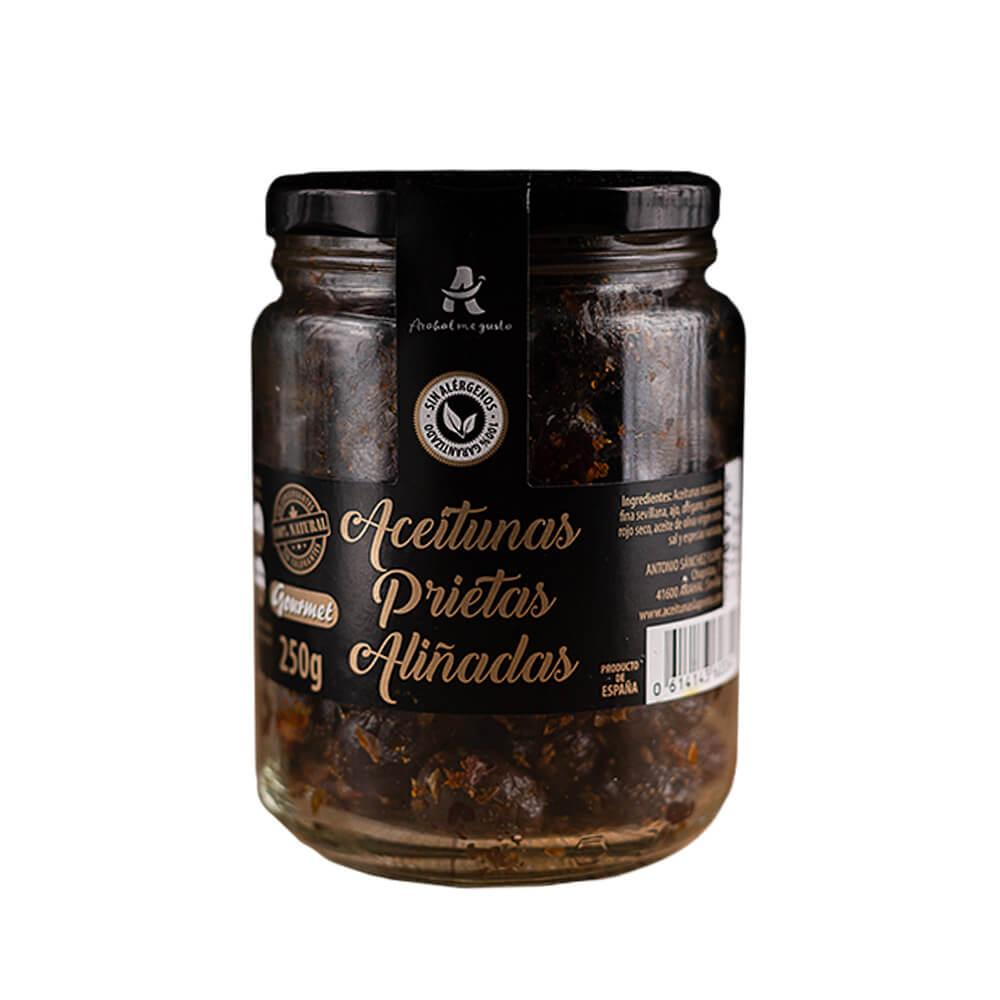 Aceitunas Prietas - 4 tarros de 250 g