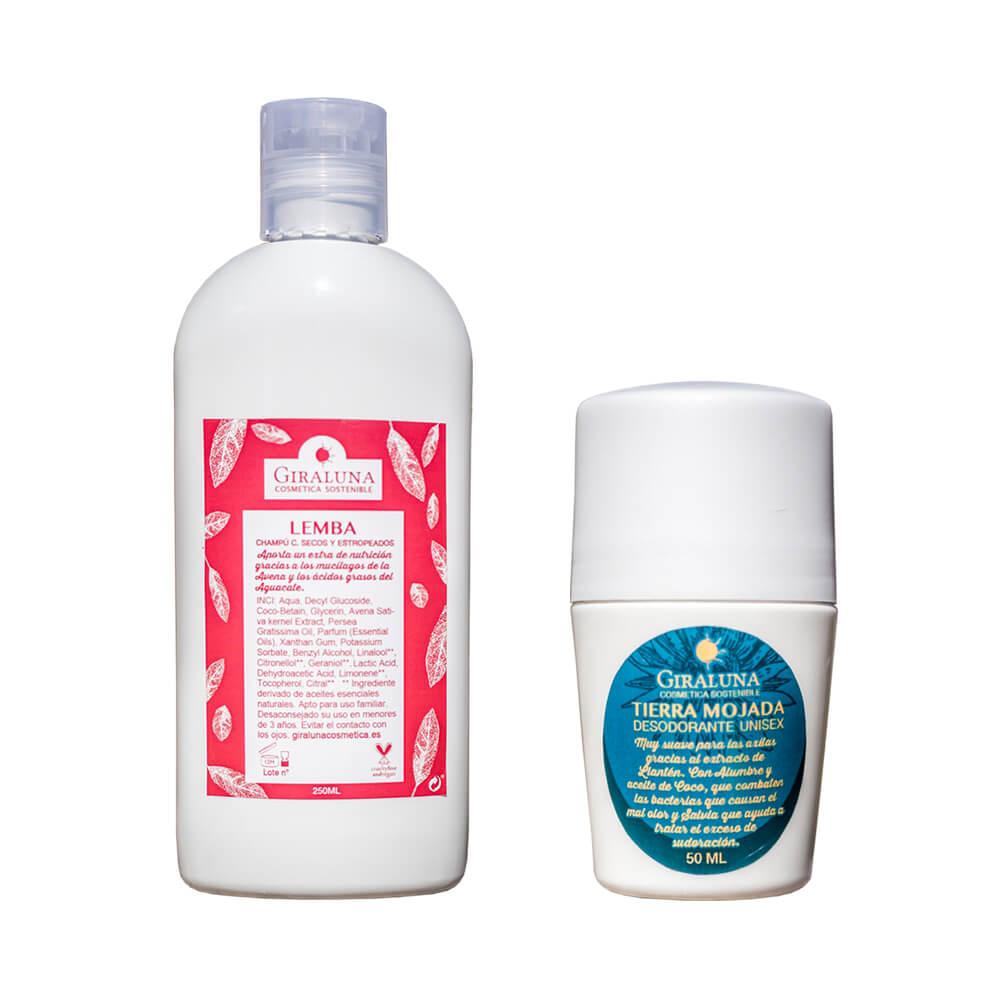 Pack higiene 2 cabello seco/estropeado | Giraluna