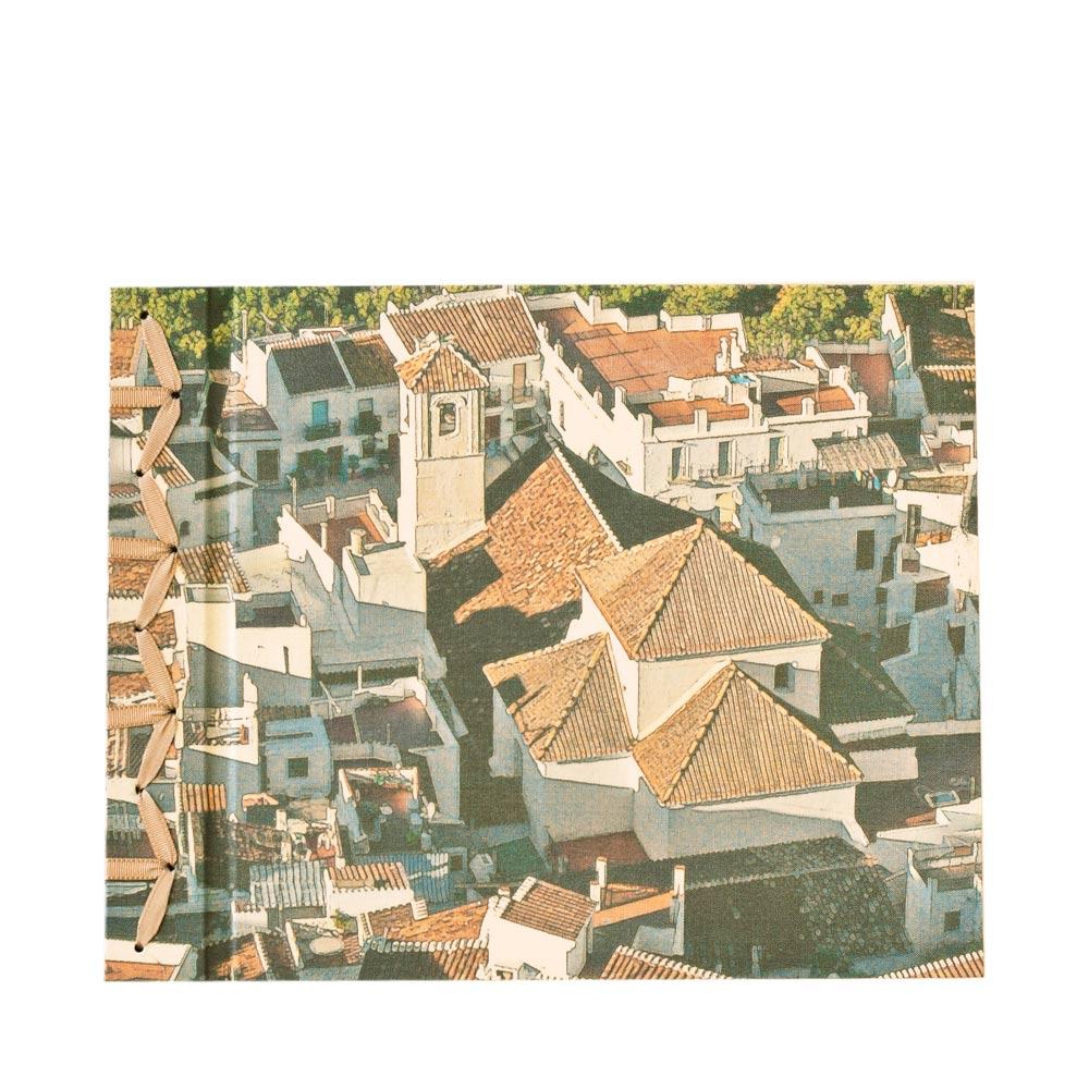 Álbum de fotos artesanal en A4 - Frigiliana