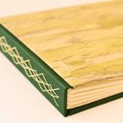 Álbum de fotos artesanal en A4 - Papel pintado