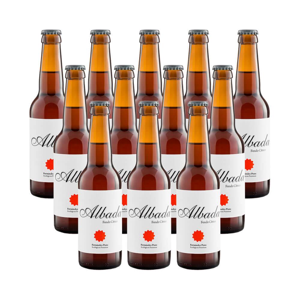 Cerveza rubia Albada - 12 botellas 33 cl