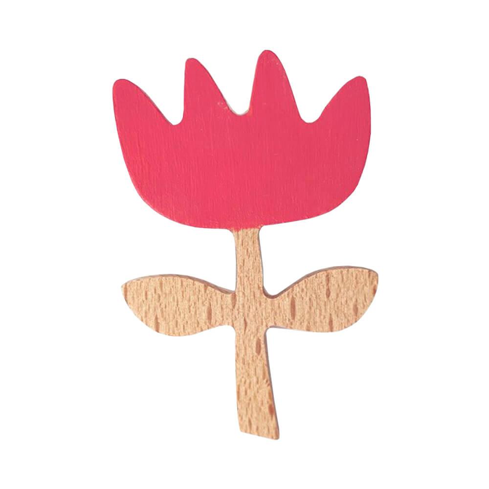 Broche Flor Rosa | Olula