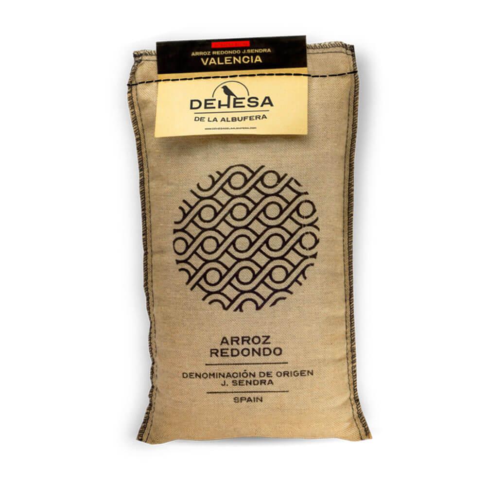 Arroz redondo variedad J. Sendra- Bolsa de 1 kg