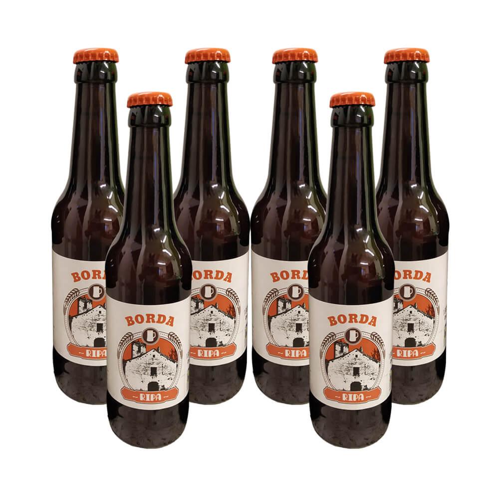 Cerveza Ripa eco Ipa - 6x33 cl