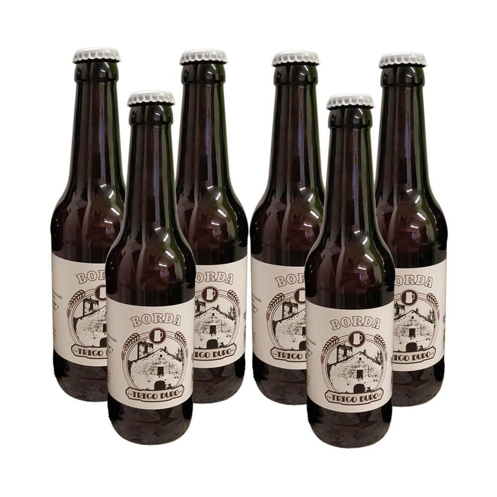 Cerveza Trigo duro Weisbeer - 6x33 cl