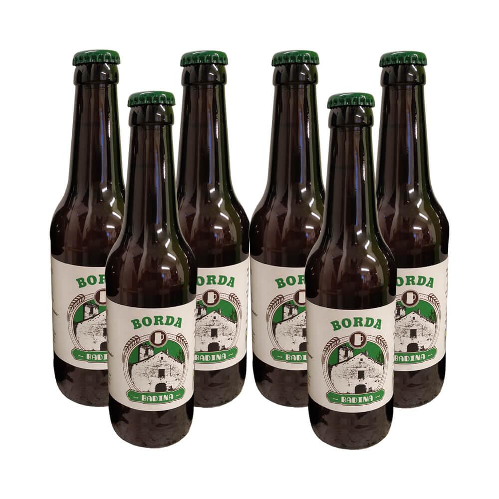 Cerveza Badina eco Golden ale - 6x33 cl